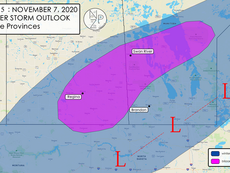 UPDATED DISCUSSION: Winter Storm Chances Increasing for Prairies and N Plains this Weekend