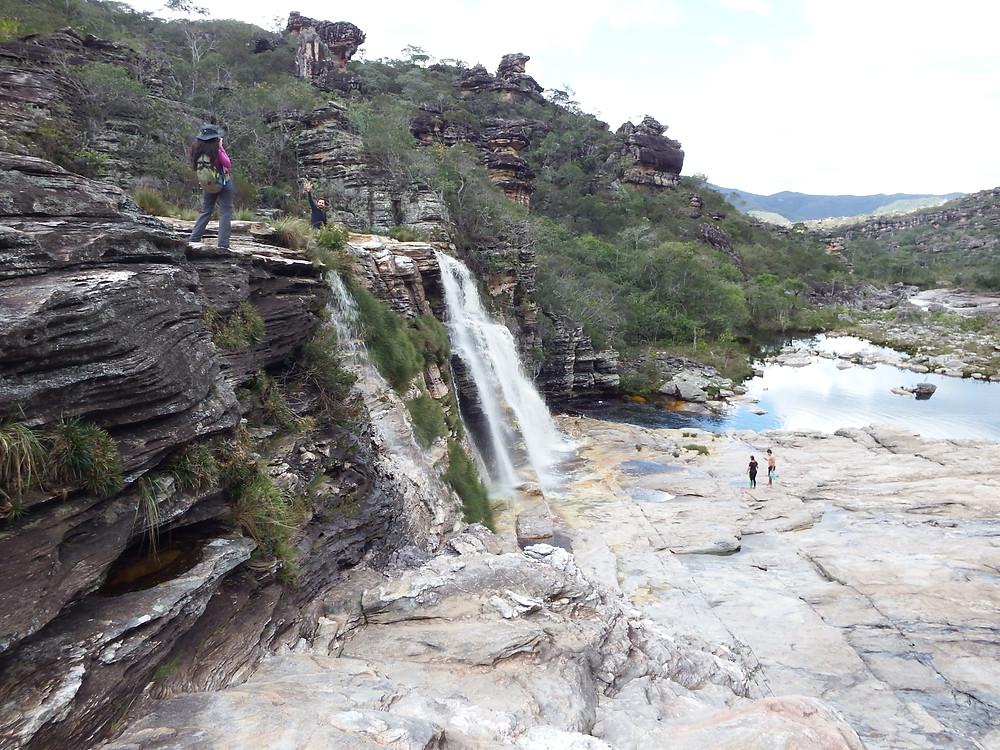 Cachoeira das Sempre Vivas
