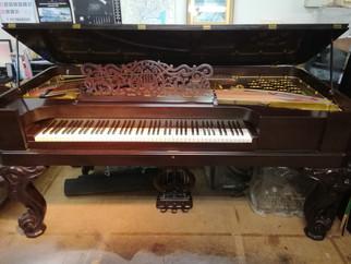 【《ピアノを聴く動画》使用ピアノ紹介】第26回ニューヨーク・スタインウェイ スクウェアグランドピアノ