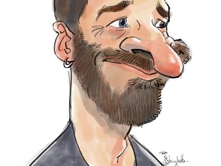 Nouveau sur le site ! Le blog caricature !