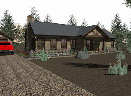 #Cabin House Plan-TH-01