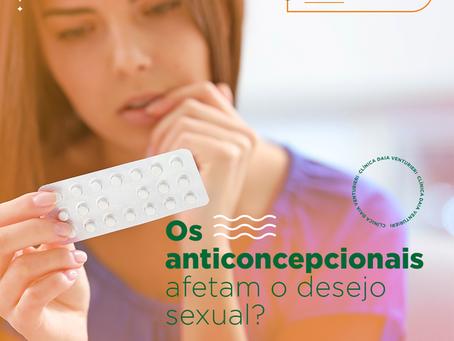 Os anticoncepcionais afetam o desejo sexual?