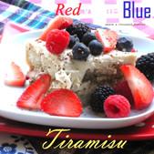 Red, White & Blue | Very Berry Tiramisu