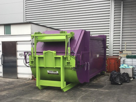 International Japanese fast food chain considers compactor options, opts for Compact and Bale!