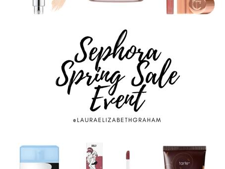 Sephora Spring Sale Event