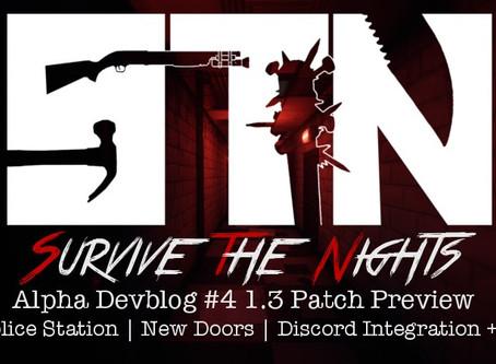 Alpha Devblog #4 - Patch 1.3 Preview (Police Station | New Doors | Discord Integration ++)