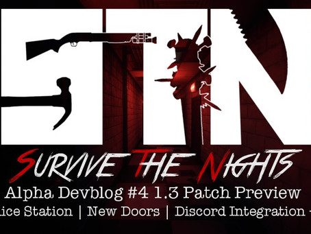 Alpha Devblog #4 - Patch 1.3 Preview (Police Station   New Doors   Discord Integration ++)