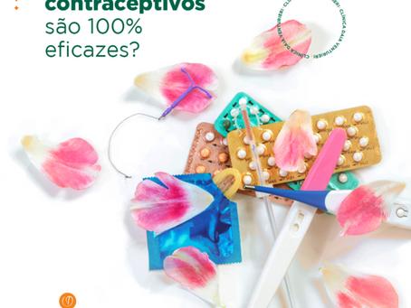 Os métodos contraceptivos são 100% eficazes?