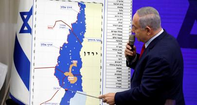 Netanyahu diz que vai anexar parte da Cisjordânia se conseguir reeleição