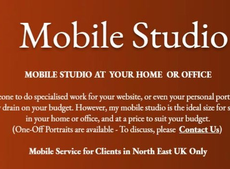 Mobile Studio - North East UK Only