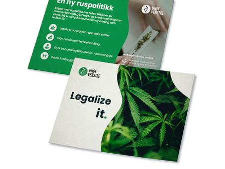 """Informasjon om """"Legalize""""-kampanjen"""