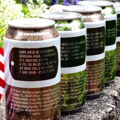 The Craft Beer That Honors American Fallen Soldiers