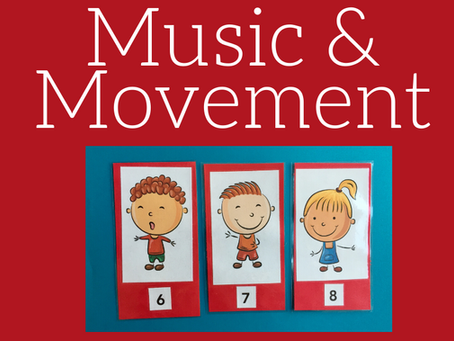 Music and movement for kids: how and why we like to get moving!
