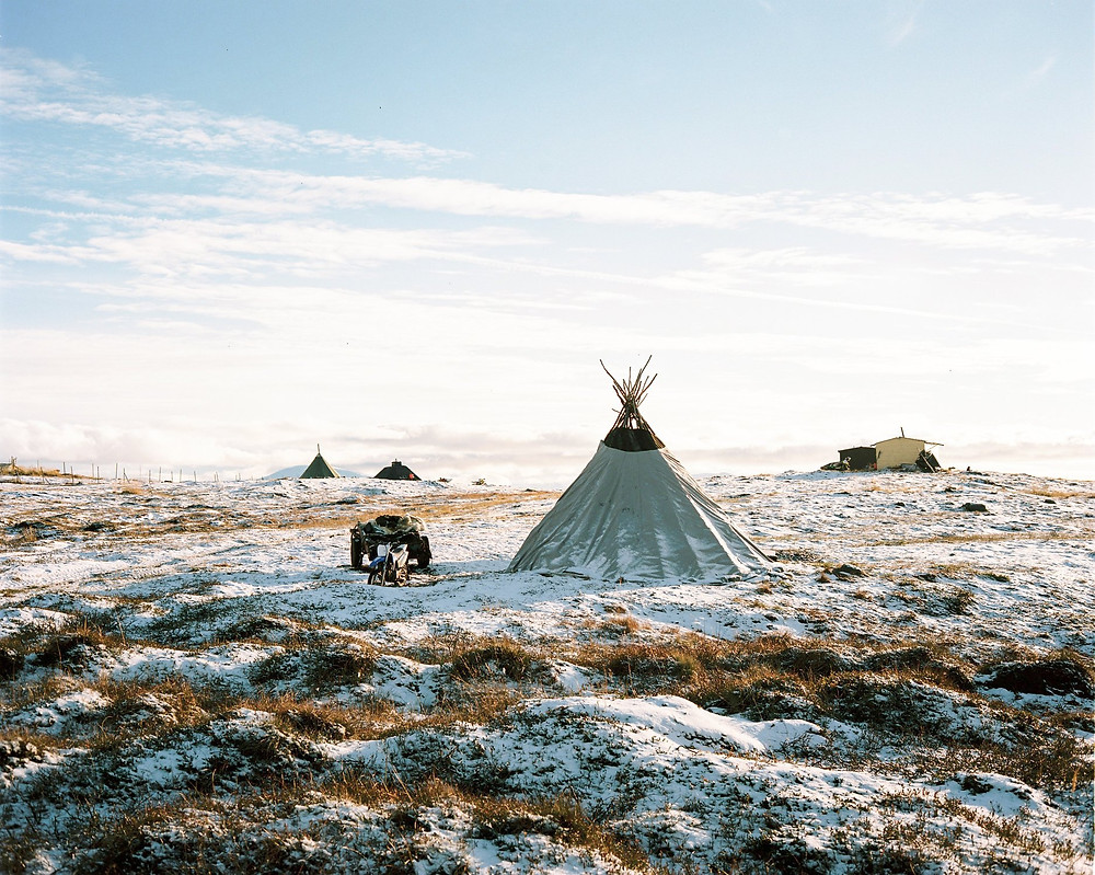 Sami & Reindeer experience in October in Northern Norway with Visit Naties
