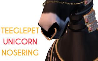 Snode - TeeglePet Nose Ring (Unicorn)