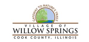 village of willow springs illinois logo