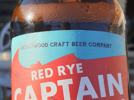 Blog #12. Hatherwood - Red Rye Captain Pale Ale. Wish this Captain would go down with the ship.