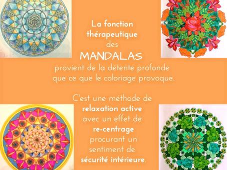 Détendez-vous grâce aux Mandalas...