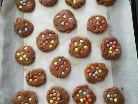 Cookies Chocolat aux Mini-Smarties