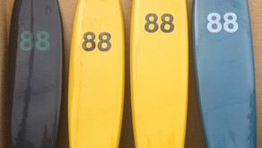 88サーフボードが入荷しました