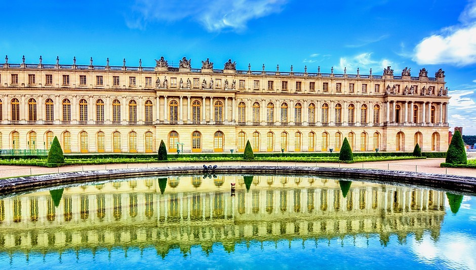 the stunning palace of Versailles