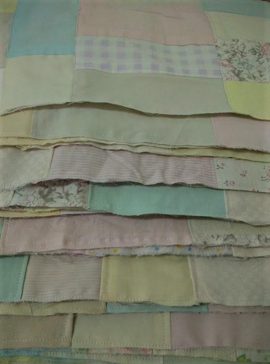 Crumb quilt squares