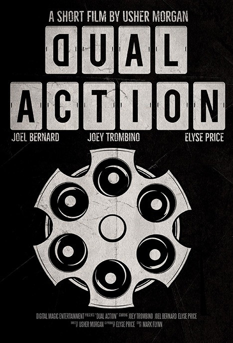 Poster for Dual Action showing animation.