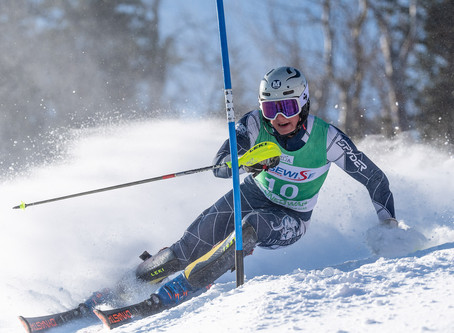 Alkier and Dekko lay some trenches on their way to victory in Williams Carnival slalom