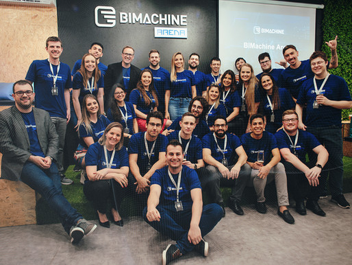 BIMachine Arena: criar, fazer e desenvolver. Confira tudo sobre o lançamento!