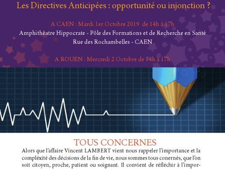 Les Directives Anticipées : opportunité ou injonction ?
