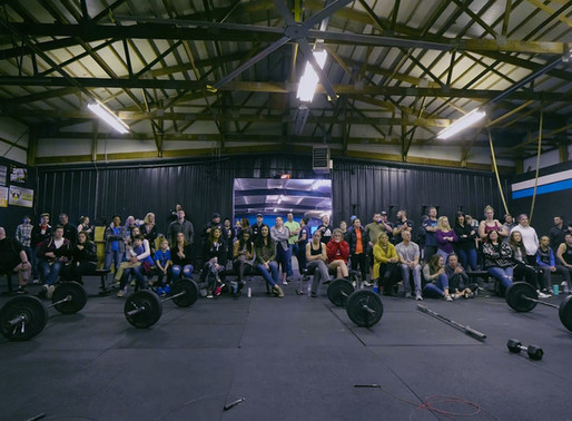Springfield Fire Department Complete CrossFit Games Workout 18.3