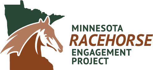 Minnesota Racehorse Engagement Project helps get new owners in Minnesota Horse Racing.