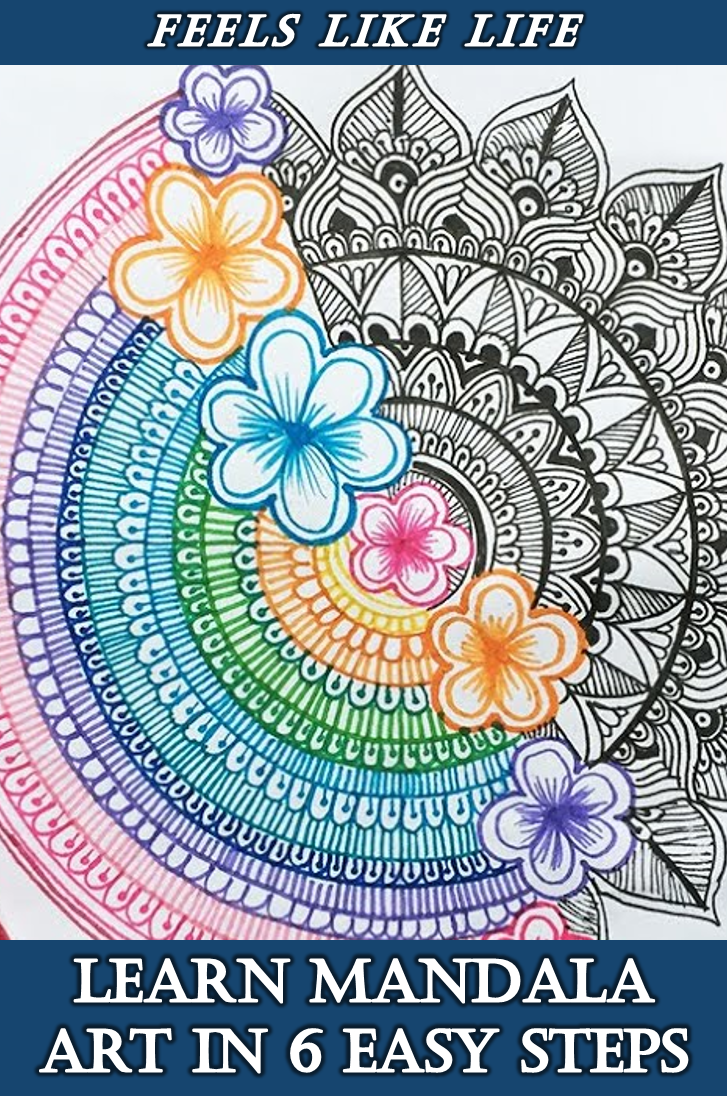 Easy mandala Art