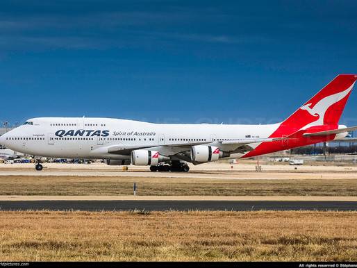 "Qantas # Retires its B747 ""Queen of the Skies"""