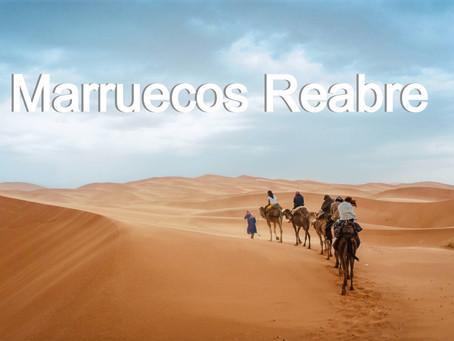 Marruecos reabre sus puertas a viajeros internacionales.