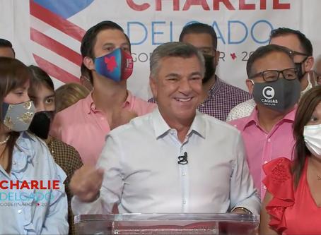 MENSAJE DE CHARLIE DELGADO EN SU ELECCION COMO CANDIDATO A GOBERNADOR Y NUEVO PRESIDENTE PPD