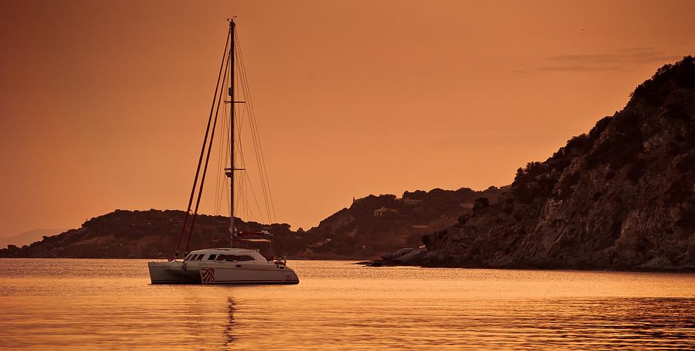 Kadavu Yacht Sunset