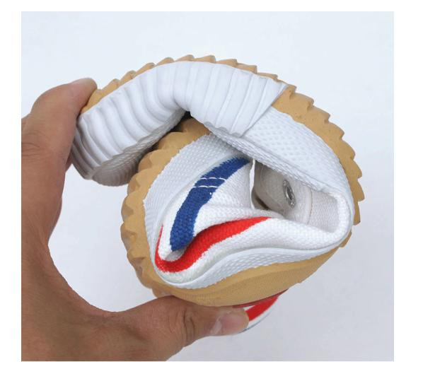Flexible and grounded feiyue