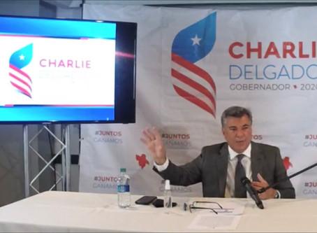 CHARLIE DELGADO PRESENTA SU PROPUESTA DE DESARROLLO ECONÓMICO