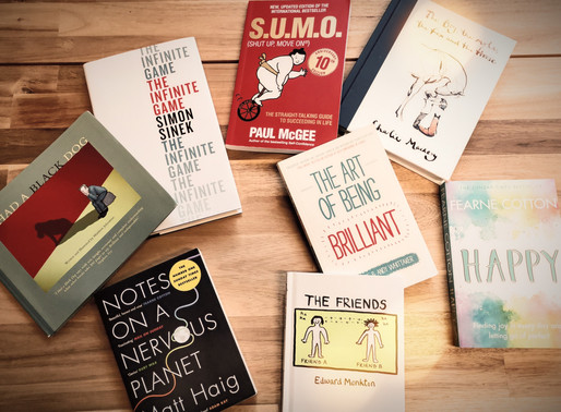 8 Great Books...