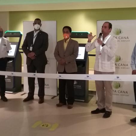Aeropuerto Internacional de Punta Cana inaugura moderno control migratorio automatizado