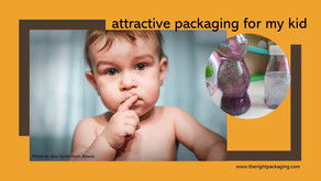 dangerous attractive packaging for kids?