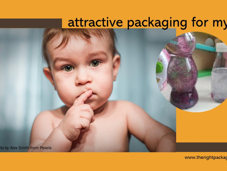 dangerous attractive packaging for kids?