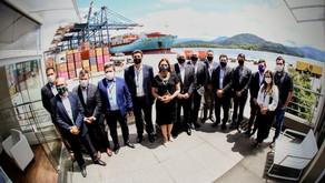 Deputada Rosana Valle participa de iniciativa para alavancar investimentos no Porto de Santos