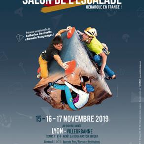 Premier Salon de l'Escalade à Lyon
