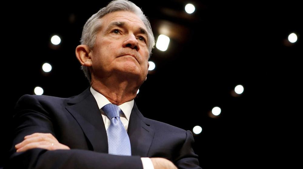 Jerome Powell Federal Reserve corta taxa de juros para 1,5%