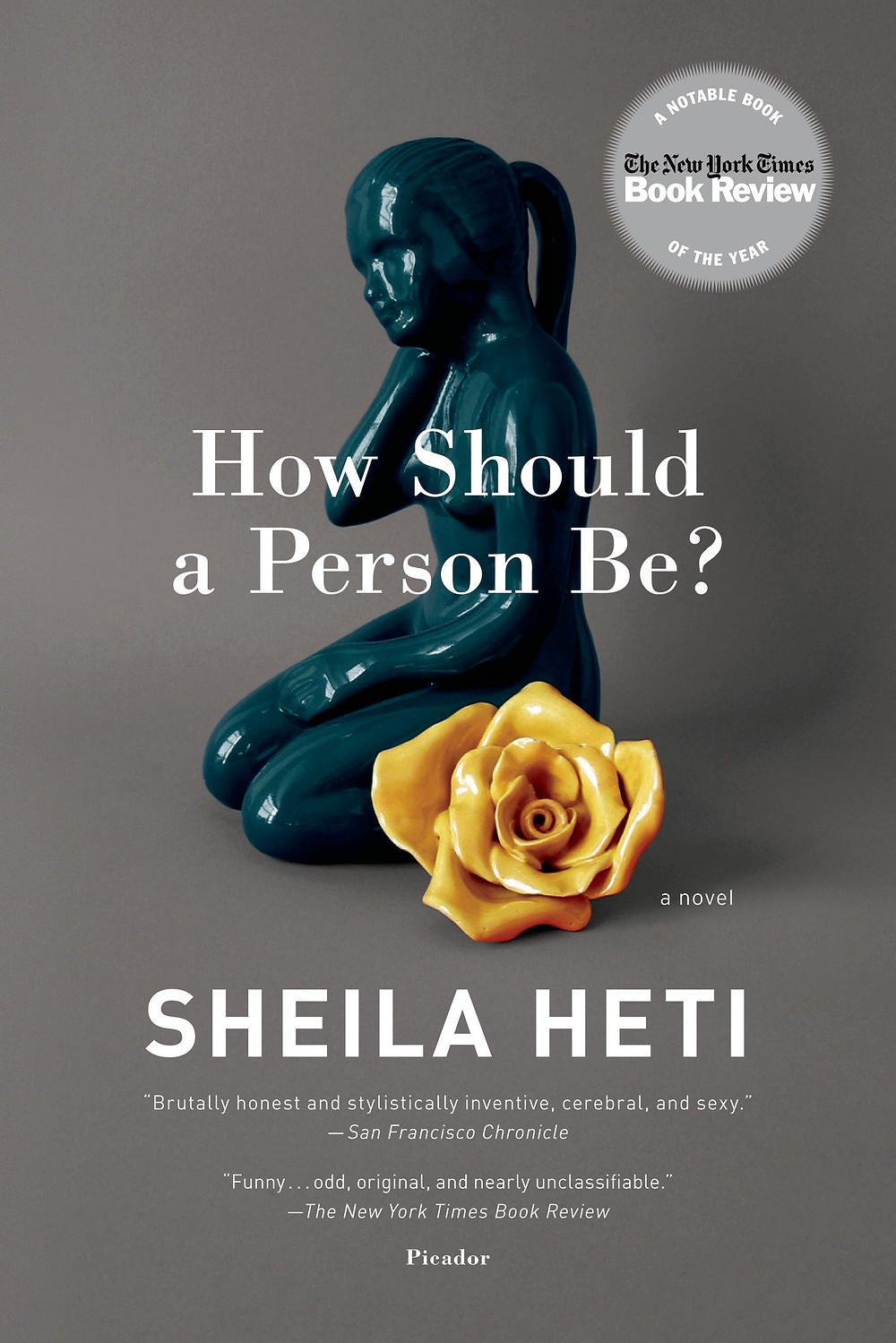 HOW A PERSON SHOULD BE by Sheila Heti : the book slut book reviews