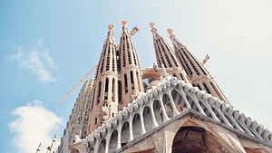 The Segrada Familia has been under construction for more than 100 years