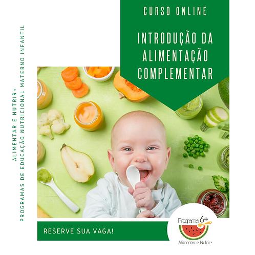 Curso de Introdução da Alimentação Complementar