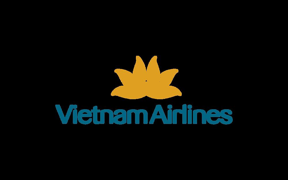 Logo Vietnam Airlines - Bố cục dọc PNG